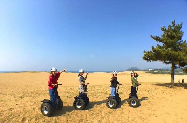 砂丘セグウェイツアー体験