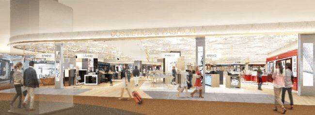 中部国際空港総合免税店が4月25日リニューアルオープン