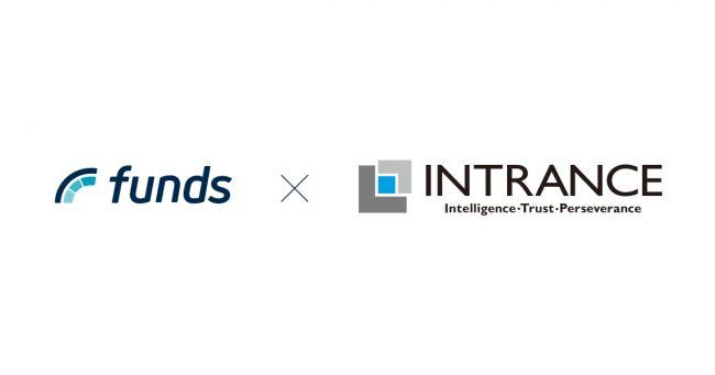 「Funds」、株式会社イントランスの子会社と事業提携