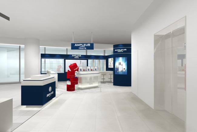 アンプルール国内初の直営店が大阪・なんばにオープン