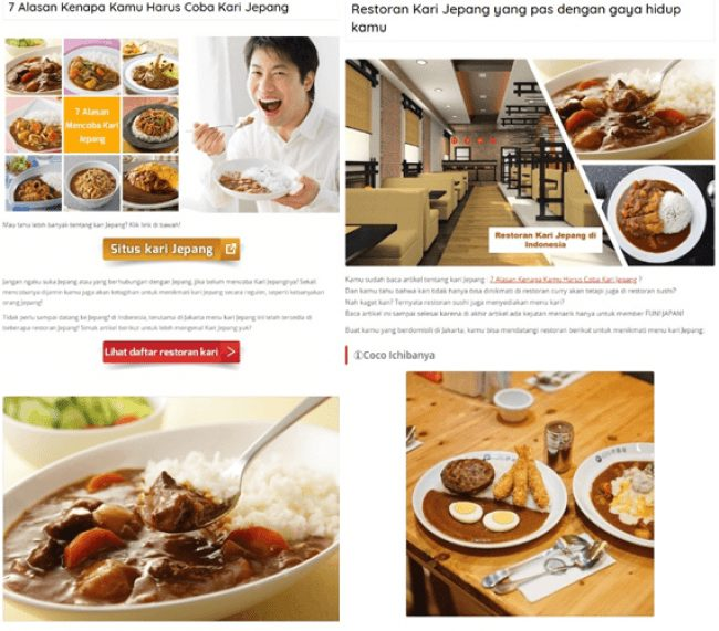 日本好きインドネシア人の9割が、日本式カレーを食べたいと回答