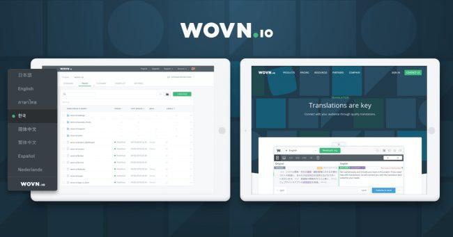 ウェブサイト・アプリ多言語化のWOVN.io、14億円の資金調達