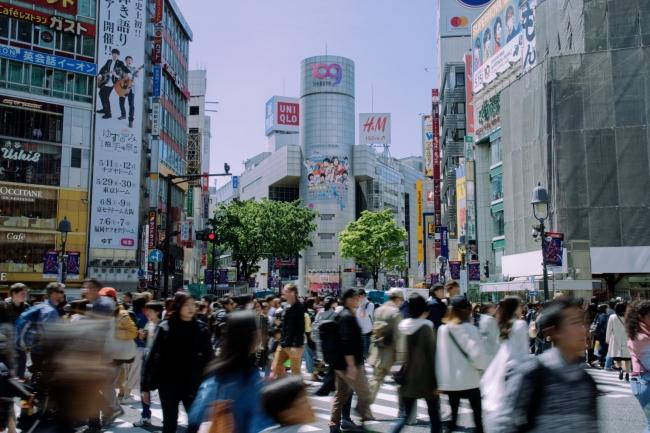 渋谷訪問数「Top10」に欧米8カ国がランクイン